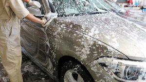 コーティング施工時の洗車